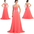 ON SALE Long Evening Prom Cocktail Formal Gown Bridesmaid Party Maxi Dress .