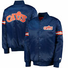 Cleveland Cavaliers G-Iii Sports By Carl Banks Men's Satin Starter  Jackets
