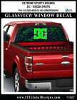 DC SHOES 001 Window Wrap / Skateboard Snowboard Truck Car Decals Stickers
