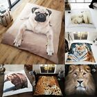 EXTRA LARGE - Animal Design Mink Faux Fur Fleece Blanket Sofa Bed Throw Gift
