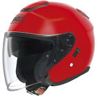 SHOEI J-CRUISE SHINE RED OPEN FACE MOTORCYCLE HELMET NEW - SPECIAL ORDER