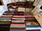 Lot Of 6 100% Cashmere Winter Scarf Assorted Flannel Check Plaid Scotland Wool