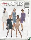 McCalls 8462 Misses Dress Top Jacket Skirt Sewing Pattern ~ Size 10 12 14