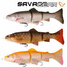 SAVAGE GEAR 3D LINE THRU TROUT 15cm & 20cm PIKE LURES IN LINE M/S & S/S