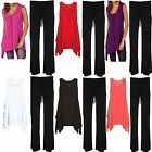Womens Ladies Plus Size Hanky Hem Swing Dress top vest Trouser Full Suit 12 - 28