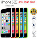 Apple iPhone 5C 32GB 16GB 5 COLORS 100% Factory Unlocked Smartphone Grade A+++
