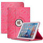 Leather 360 Rotating Smart Stand Case Cover For APPLE iPad2/3/4 Air1/2 Mini1/2/3 <br/> Now Available For New Apple iPad 9.7 (2017)