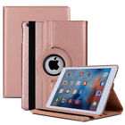 For Apple iPad 9.7 (2017/18/Air 2/Pro 9.7) Leather Tablet Stand Flip Cover Case
