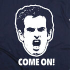 Andy Murray Tennis 'Come On!' T-Shirt in Mens, Ladies & Kids Sizes