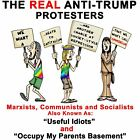 Anti Liberal  THE REAL ANTI TRUMP PROTESTERS Conservative Political Shirt