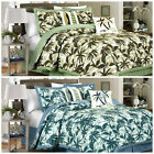 KONA 6P/5P Tropical Palm Tree Surfboards Camouflage Bedding Comforter Set image