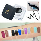 2 PCS Waterproof Shimmer/ Matte Eye Liner Eyeliner Gel 12 Color Makeup Cosmetic