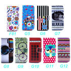 Wallet Flip Stand Leather Pouch Skin Case Cover For LG G3 F400 D850 D855