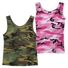 Rothco Womens Camouflage Stretch Form Fitting Tank Top