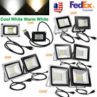 10W 20W 30W 50W 100W 110V LED Flood Light Outdoor Security Spotlight w/ US Plug
