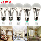Super Bright E26 E27 7W 110V Screw Bulb Energy Saving Lamp LED White Light 10 PC