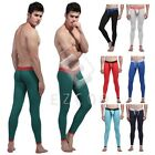 Men Slim Fit Cotton Tight Long Johns Warm Pants Bulge Underwear Leggings HC