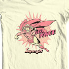 Supergirl T-shirt golden age old DC comic superhero graphic cotton tee DCO250