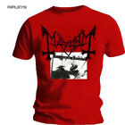 Official T Shirt MAYHEM Black Death Metal DEATHCRUSH Red All Sizes
