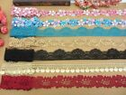 7Y Pretty Venise Venice Lace Trim-Blue/Purple/Pink/Gold/Red-Wedding/Doll/DIY-V3-
