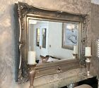 HUGE Decorative Silver Mirror - SAVE ££'s - Insured in transit