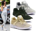 NEW WOMENS LADIES LACE UP SPARKLY FASHION TRAINERS PUMPS SHOES SIZE CASUAL SPORT
