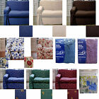 Easycare Cotton Polyester 1 to 2 Seater OR 2 to 3 Seater Sofa Couch Cover