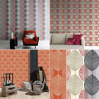 Leaf Wallpaper Retro Vintage Bold Leaves Floral Flowers Heavyweight Arthouse