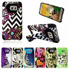 For Samsung Galaxy S6 Edge+ Edge Plus Hybrid Rubber Hard Case Cover w/Stand
