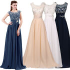 Chiffon Lace Wedding Party Evening Cocktail Gown Formal Bridesmaid Prom Dresses