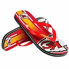 Kansas City Chiefs Men's Big Logo Gradient Unisex Beach Flip Flop Sandals