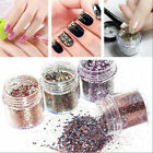 1Box New 10ml Nail Art Glitter Powder Dust Pink Rose Red Mixed Sequins Decor