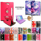 "Printed Leather Flip Universal Case Cover For Android Tablet PC 7"" 8"" 9"" 10"""
