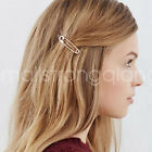 Fashion Women exquisite simple metal paper clip styling hairpin Hair Clip