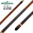 McDermott cue G308 with G-Core shaft - 9 ball American Pool cue £305.0 GBP on eBay