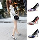 New Women Fashion Stiletto Pointed Toe Shallow High Heel Pumps Shoes Lady Sandal
