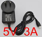 4/2PACK FOR RASPBERRY PI 5V 3A MAINS MICRO USB AC-DC ADAPTOR POWER SUPPLY CHARGE
