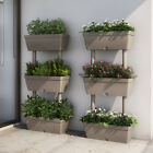 Plant Pot 3 Level Stand Trough