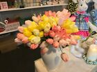 Artificial Tulip Flower Bundle Bouquet 15in f3502127 Real Touch  Floral RAZ NEW