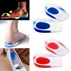 2* Gel Heel Support Pad Cup Silicone Cushion Orthotic Insole Plantar Fasciitis #