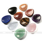 1pc Reiki Concave Seed Natural Healing Worry Stone Display Ornament Jewelry