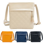 New Fashion Women PU Leather Messenge Handbag Small Diagonal Shoulder Tassel Bag