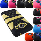 FOR SAMSUNG GALAXY PHONES HYBRID CASE TOUGH DUAL LAYER STAND RUGGED COVER+STYLUS