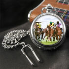 Horse Racing  Pocket Watch