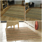 Natural Living Seagrass Woven Texture Rug in 3 Colours in Various Sizes Carpet