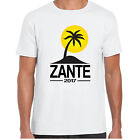 Zante 2017 Holiday - MensT shirt - tour stag clubbing Palm