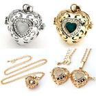 1PC Fashion Women Gold/White Gold Plated Heart Sweater Pendant Necklace Gift