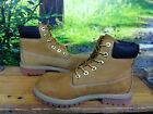 TIMBERLAND UK 5 TAN NUBUCK LEATHER 6 INCH PREMIUM BOOTS LADIES CHILDRENS