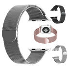 Metal Stainless Steel Milanese Mesh Loop Magnetic Band for Apple...