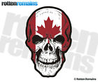 Canada Flag Skull Decal Canadian Skulls Vinyl Car Truck Window Sticker V2 EMV